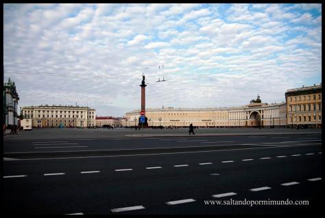 Plaza del Palacio, San Petersgurgo