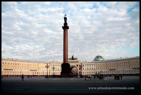 Plaza del Palacio, San Petersburgo.