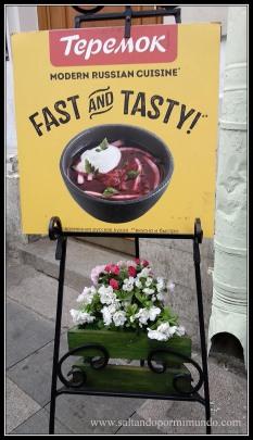 Dónde comer barato en San Petersburgo