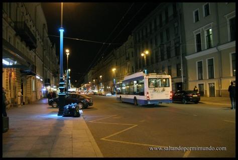 Una calle @pequeña@ en San Petersburgo