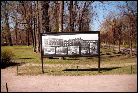 Imágenes de los Palacios tras la segunda Guerra Mundial.