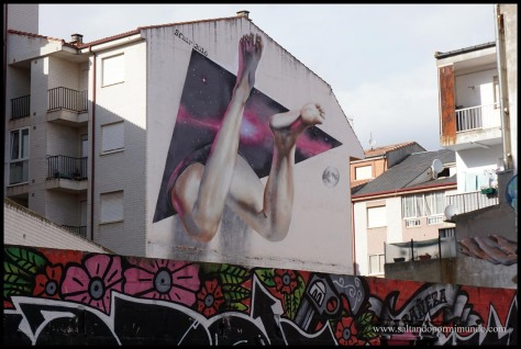 Street Art en La Bañeza, León.
