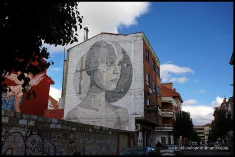 La Bañeza, capital europea del arte urbano.