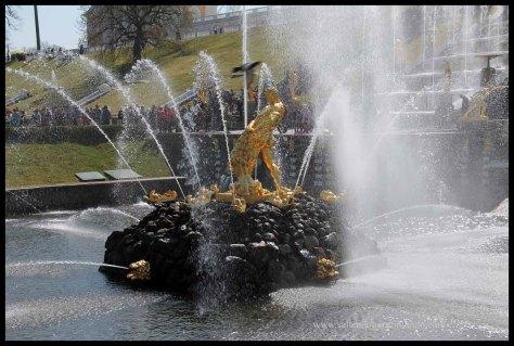 Palacio y jardines de Peterhof. Patrimonio de la Humanidad por la unesco