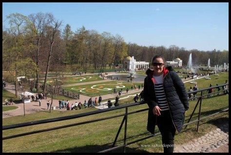 Jardines de Peterhof.