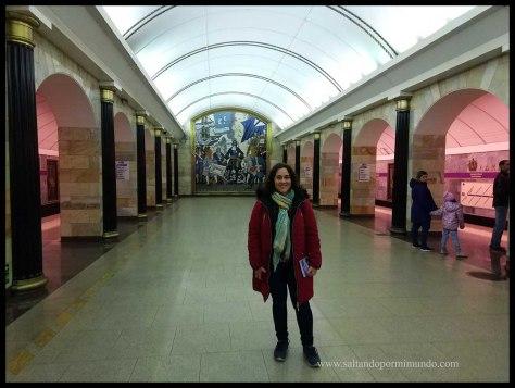 San Petersburgo. Metro