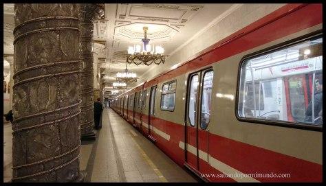 Qué ver en San Petersburgo en 4 días. Metro de San Petersburgo.