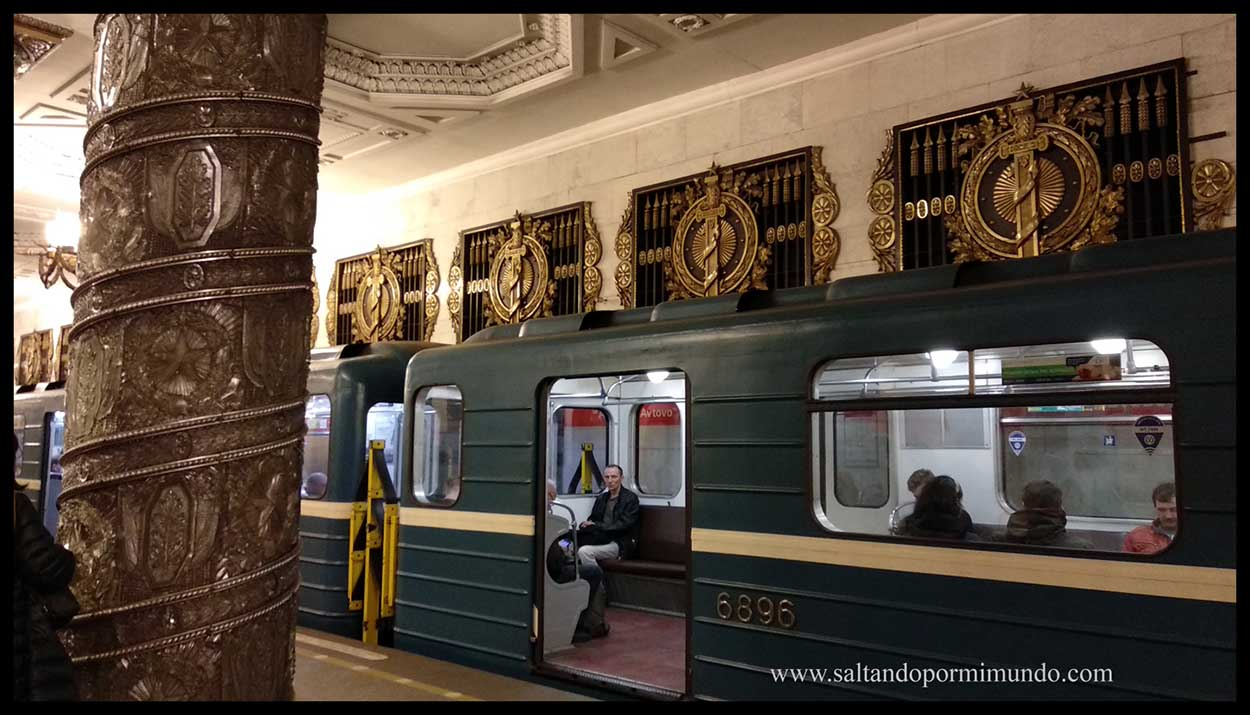 Metro Avtovo San Petersburgo