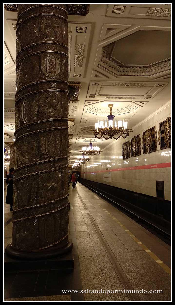 Avtovo metro de San Petersburgo