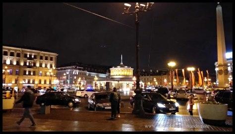 San Petersburgo. Estación Moskovsky
