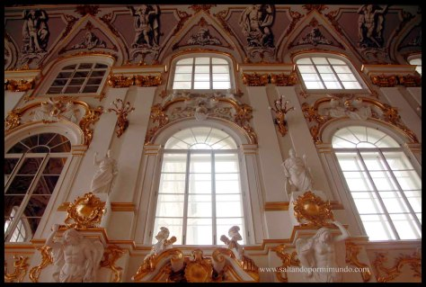 El Hermitage, uno de los museos más impresionantes del mundo.