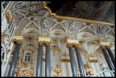 Interior del Hermitage. Uno de los más im presionantes del Mundo.