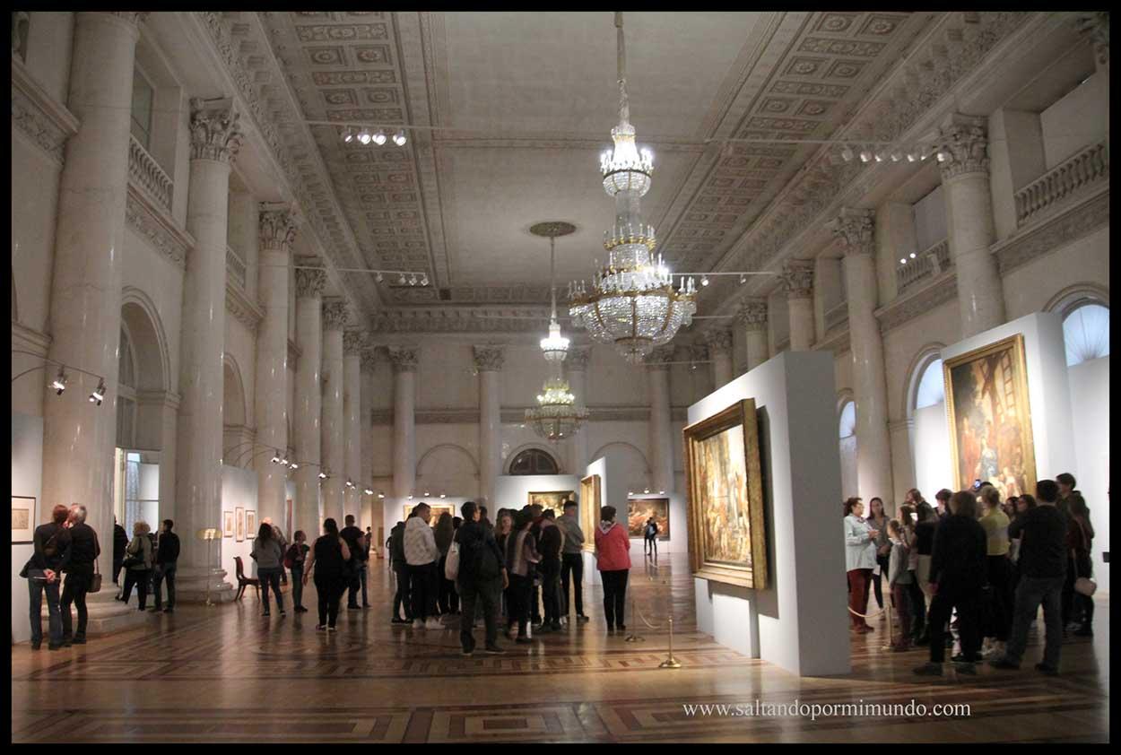 Interior del Hermitage. Qué ver en el Hermitage.