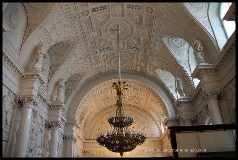 El Hermitage, uno de los mejores museos del Mundo.
