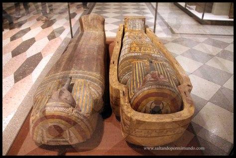 Momias en el Hermitage.
