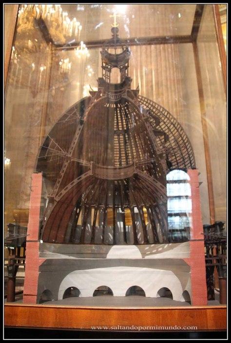 Maqueta Catedral de San Isaac.