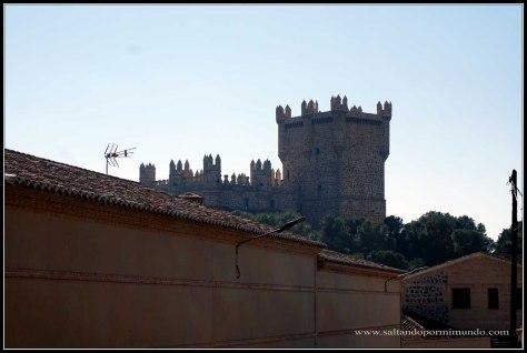 Guadamur y su castillo. Provincia de Toledo