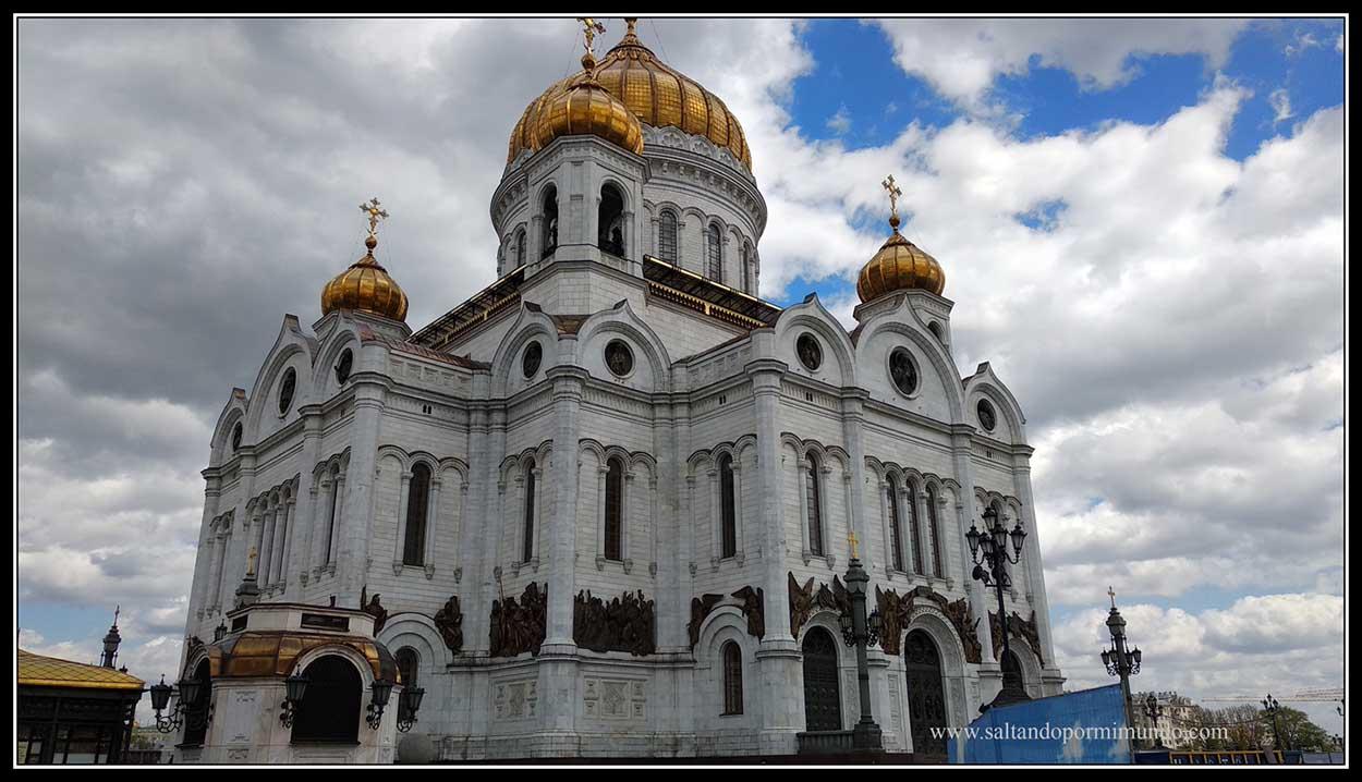Una foto, una historia. Catedral del Cristo Salvador de Moscú.