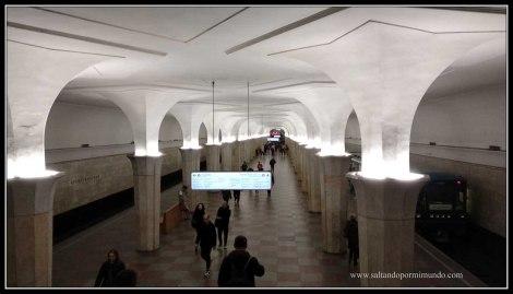 Estaciones de Metro de Moscú.