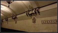 Las estaciones de metro más espectaculares del Mundo, en Moscú.