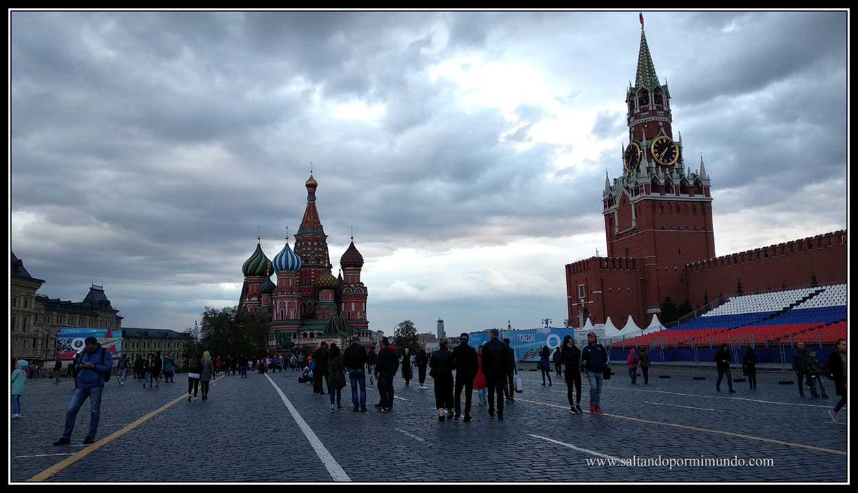 Una de las plazas más impresionantes del mundo.