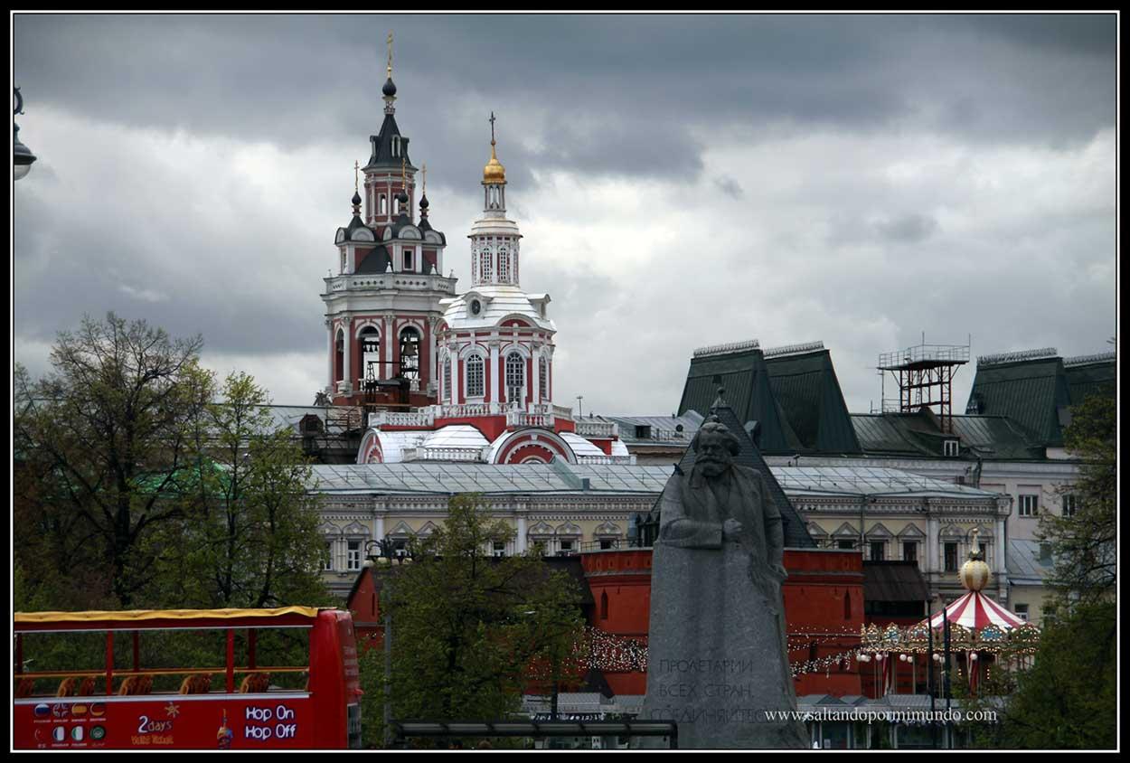 Paisaje urbano de Moscú.