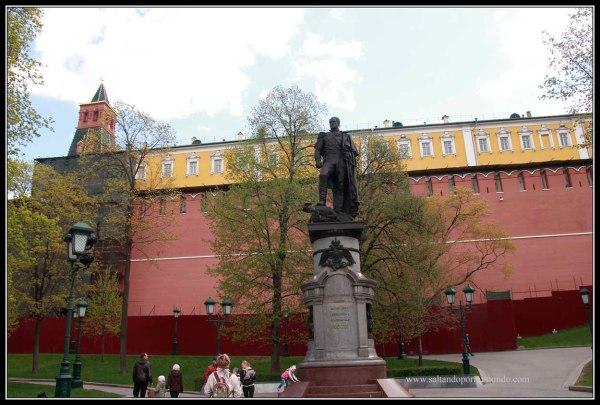Murallas del Kremlin.