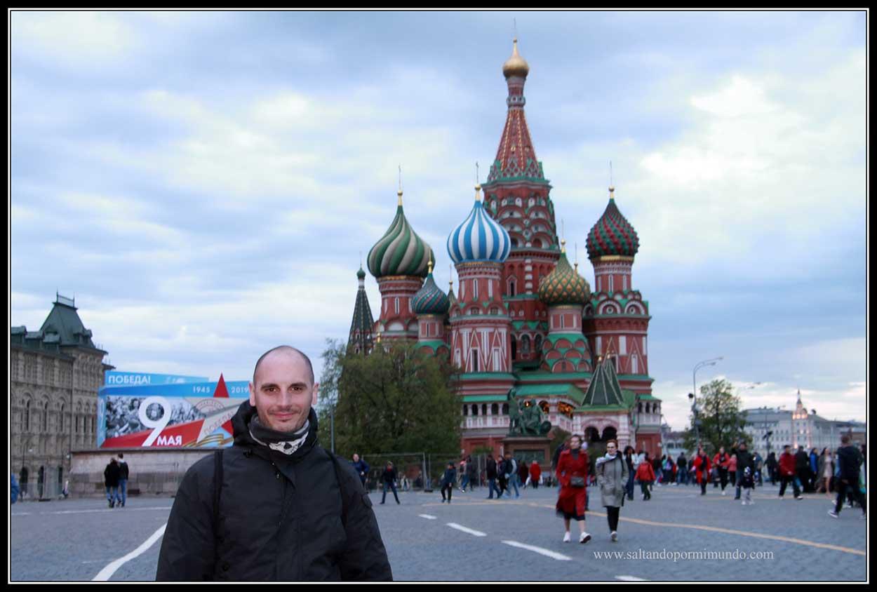 Qué ver en Rusia. Catedral de San Basilio.