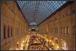 Una de las Galerías más bonitas del Mundo. galerías GUM en Moscú.
