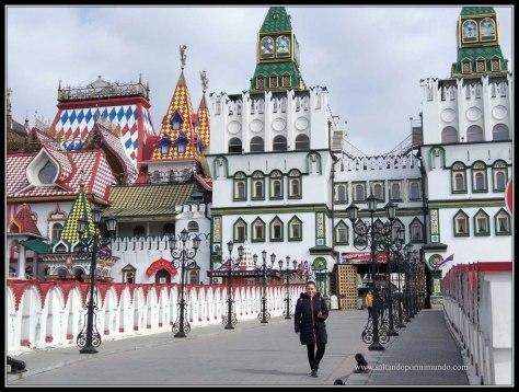 Entrada  al Mercado de Izmailvo.