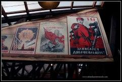 Propaganda electoral en el Mercado de Izmailovo