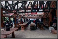 Puestos tradicionales en el Mercado de Izmailovo