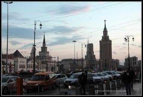 Alrededores de la estación de Komsomolskaya