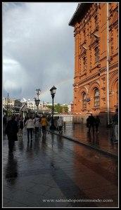 Paseando por los alrededores de la Plaza Roja