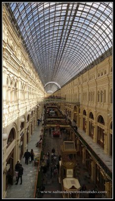 Qué ver en Moscú, galerías GUM.