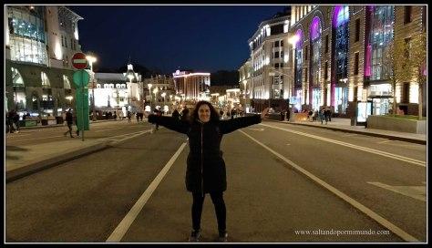 Calles de Moscú vacías