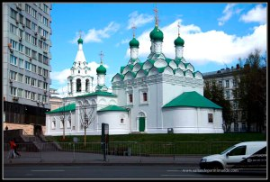 Iglesia de St Simeon, Moscú.