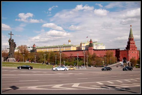 Moscu. El Kremlin.
