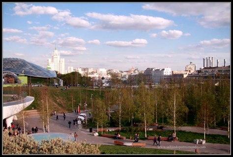 Moscu. Parque Zaryady