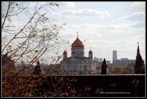 Las mejores vistas de Moscú desde Parque Zaryady.