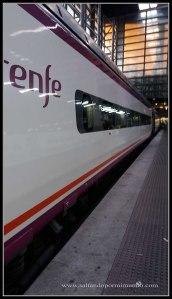 Estación de Atocha. Destino Córdoba