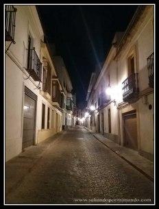 Calle de Cordoba por la noche