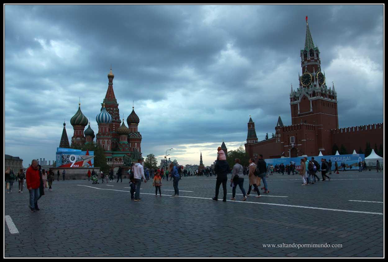 Por qué es un error viajar a Rusia en Mayo